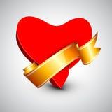 Fundo, presente ou cartão bonito do dia de Valentim do St. Imagem de Stock Royalty Free