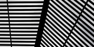 Fundo preto & branco abstrato da bandeira Fotografia de Stock Royalty Free