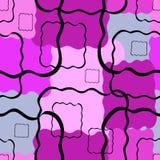 fundo Preto-cor-de-rosa Imagens de Stock