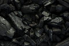 Fundo preto de mineral de carvão fotos de stock royalty free