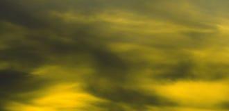 Fundo preto e amarelo Imagens de Stock