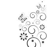 Fundo preto e branco Imagem de Stock Royalty Free