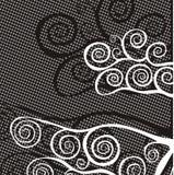 Fundo preto e branco Imagens de Stock Royalty Free