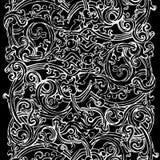 Fundo preto e branco Ilustração Royalty Free