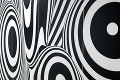 Fundo preto e branco abstrato Imagem de Stock Royalty Free
