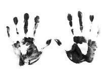 Fundo preto e branco abstrato Fotos de Stock