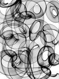 Fundo preto e branco abstrato ilustração do vetor