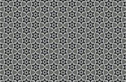fundo preto e branco abstrato dos testes padrões Fotos de Stock