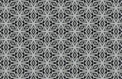 fundo preto e branco abstrato dos testes padrões Imagem de Stock