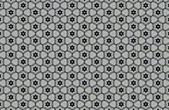 fundo preto e branco abstrato dos testes padrões Fotografia de Stock Royalty Free