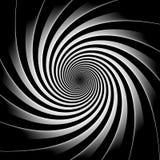 Fundo preto e branco da hipnose Fotografia de Stock