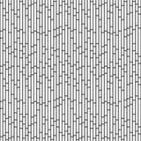 Fundo preto e branco da repetição do teste padrão da telha das ardósias do retângulo Imagem de Stock