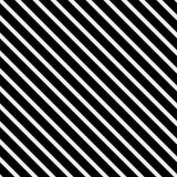 Fundo preto e branco da repetição do teste padrão listrado Imagens de Stock Royalty Free