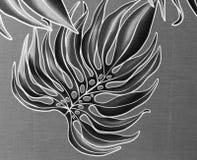 Fundo preto e branco da selva Imagens de Stock Royalty Free