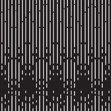 Fundo preto e branco de intervalo mínimo do teste padrão Fotografia de Stock Royalty Free
