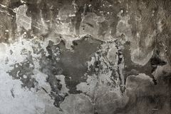 Fundo preto e branco do grunge áspero sujo da textura da parede do cimento fotos de stock