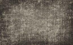Fundo preto e branco do grunge do vintage com textura da lona ou da serapilheira fotos de stock