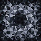 Fundo preto e branco do mosaico Imagens de Stock
