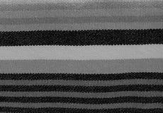 Fundo preto e branco do teste padrão da tela das listras fotos de stock royalty free