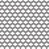 Fundo preto e branco do teste padrão listrado do dobro do diamante Fotos de Stock Royalty Free