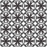 Fundo preto e branco sem emenda Foto de Stock