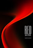 Fundo preto e vermelho ilustração royalty free