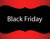Fundo preto especial de sexta-feira ilustração stock