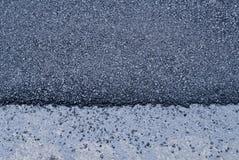 Fundo preto novo brilhante da textura do sumário do asfalto Fotografia de Stock