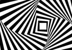 Fundo psicótico da ilustração abstrata do vetor Fotos de Stock