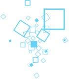 Fundo quadrado Imagem de Stock