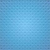 Fundo quadrado abstrato azul - linhas do cruzamento Imagens de Stock Royalty Free