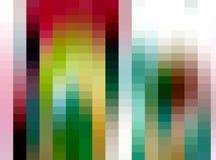 Fundo quadrado abstrato, cores, máscaras, gráficos ilustração do vetor