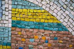 Fundo quadrado da textura do tom da terra Fotos de Stock Royalty Free