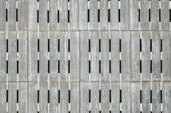 Fundo quadrado de madeira cinzento Imagem de Stock