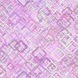 Fundo quadrado diagonal sem emenda do teste padrão Fotografia de Stock Royalty Free