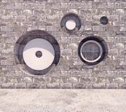 Fundo quadrado geométrico abstrato do ilustração do vetor