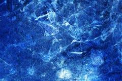 Fundo quebrado do gelo Imagens de Stock Royalty Free