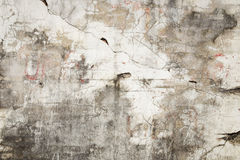 Fundo rachado da textura do muro de cimento Fotografia de Stock