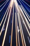 Fundo real abstrato da estrada do tráfego Imagem de Stock