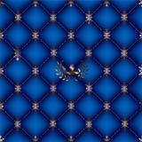 Fundo real azul Fotografia de Stock