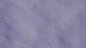 Fundo real da textura da neve Fotografia de Stock