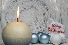 Fundo redondo da decoração do Natal Imagem de Stock Royalty Free