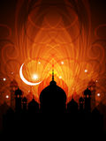 Fundo religioso abstrato do eid ilustração royalty free