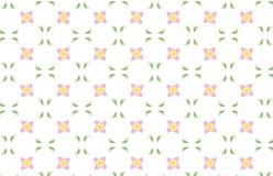 Fundo repetido da flor Fotografia de Stock
