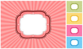 Fundo retro Imagem de Stock
