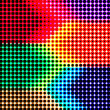 Fundo retro abstrato da reticulação da cor Imagens de Stock Royalty Free