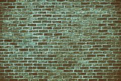Fundo retro do grunge da parede de tijolo azul Foto de Stock