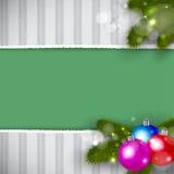 Fundo retro do Natal Imagens de Stock