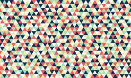 Fundo retro do teste padrão do vintage do polígono Foto de Stock