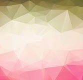 Fundo retro do teste padrão geométrico abstrato Fotografia de Stock